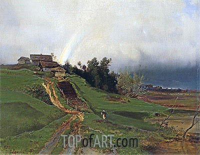 Rainbow, 1875 | Alexey Savrasov | Painting Reproduction