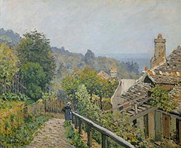 Louveciennes or, The Heights at Marly, 1873 von Alfred Sisley | Gemälde-Reproduktion