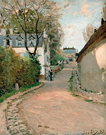 Rue de la Princesse, Louveciennes | Alfred Sisley | Painting Reproduction