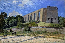 The Aqueduct at Marly | Alfred Sisley | Painting Reproduction