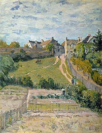 The Rising Path | Alfred Sisley | Painting Reproduction