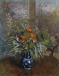 Still Life of Wild Flowers | Alfred Sisley | Painting Reproduction
