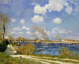 Bougival | Alfred Sisley | Painting Reproduction