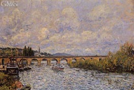 The Sevres Bridge | Alfred Sisley | Painting Reproduction