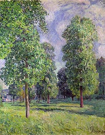Landscape at Sevres | Alfred Sisley | Painting Reproduction