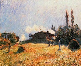 The Station at Sevres, c.1879 von Alfred Sisley | Gemälde-Reproduktion