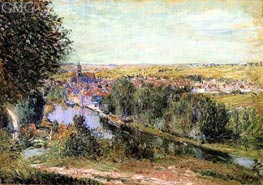 View of Moret | Alfred Sisley | Painting Reproduction