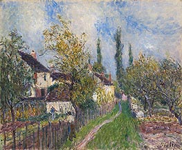 Path at Sablons | Alfred Sisley | Gemälde Reproduktion