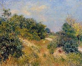 The Edge of the Fontainbleau Forest - June Morning, 1885 by Alfred Sisley | Painting Reproduction
