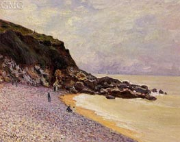 Lady's Cove before the Storm, 1897 by Alfred Sisley | Painting Reproduction
