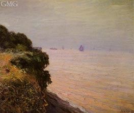 Landland Bay, England, Morning, 1897 by Alfred Sisley | Painting Reproduction