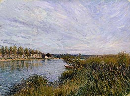 View of St-Mammès | Alfred Sisley | Painting Reproduction