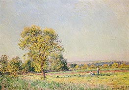 A Summer's Day | Alfred Sisley | Painting Reproduction