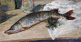 The Pike | Alfred Sisley | Painting Reproduction