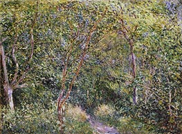 In the Wood | Alfred Sisley | Painting Reproduction