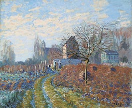 Gelee Blanche - Summer of St. Martin, 1874 by Alfred Sisley | Painting Reproduction