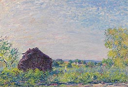 The Haystack, 1877 by Alfred Sisley | Painting Reproduction