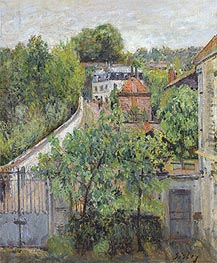 View of Sèvres, c.1879 by Alfred Sisley | Painting Reproduction