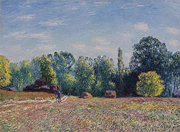 Edge of Forest, 1895 by Alfred Sisley | Painting Reproduction