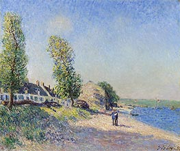 Saint-Mammès Morning, 1885 by Alfred Sisley | Painting Reproduction