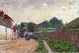 Marly-le-Roi, c.1875 by Alfred Sisley | Painting Reproduction