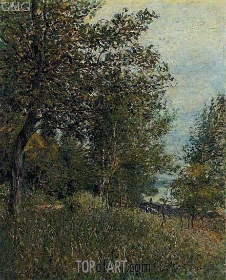 A Corner of the Roches-Courtaut Woods, June, 1884 | Alfred Sisley | Gemälde Reproduktion