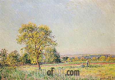 A Summer's Day, 1886 | Alfred Sisley | Gemälde Reproduktion