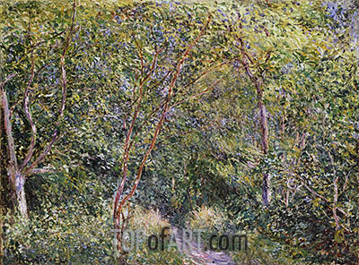 In the Wood, undated | Alfred Sisley | Painting Reproduction