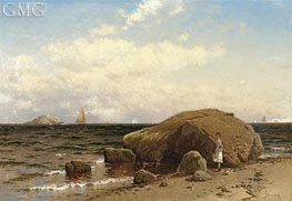 Looking out to Sea, c.1885 von Alfred Thompson Bricher | Gemälde-Reproduktion