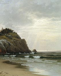 Cloudy Day | Alfred Thompson Bricher | Painting Reproduction