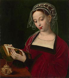 The Magdalen Reading, c.1525 by Ambrosius Benson | Painting Reproduction