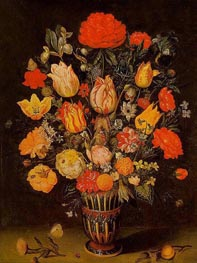 Still Life of Flowers, undated by Ambrosius Bosschaert | Painting Reproduction