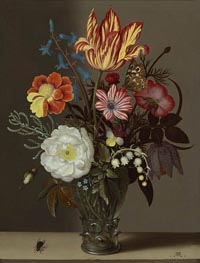 Still Life of Flowers in a Glass Roemer | Ambrosius Bosschaert | Gemälde Reproduktion
