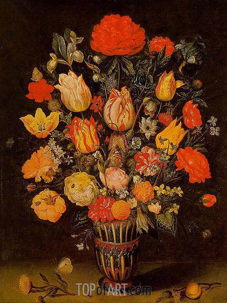 Still Life of Flowers, undated | Ambrosius Bosschaert | Gemälde Reproduktion