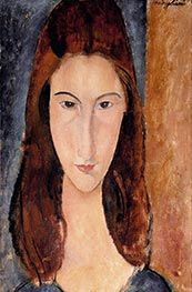 Jeanne Hebuterne | Modigliani | Painting Reproduction