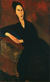 Anna Zborowska | Modigliani | Painting Reproduction