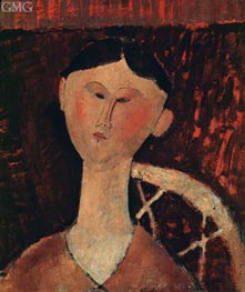 Portrait of Mrs Hastings, 1915 by Modigliani | Painting Reproduction