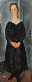 The Servant Girl | Modigliani | Painting Reproduction