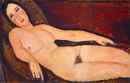 Nude on a Divan | Modigliani | Painting Reproduction