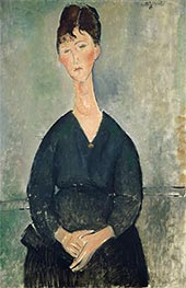 Café Singer | Modigliani | Painting Reproduction