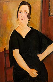 Madame Amédée (Woman with Cigarette) | Modigliani | Painting Reproduction