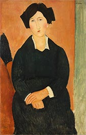 The Italian Woman, c.1918/19 by Modigliani | Painting Reproduction