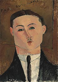 Paul Guillaume | Modigliani | Painting Reproduction