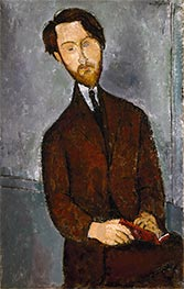 Léopold Zborowski | Modigliani | Painting Reproduction