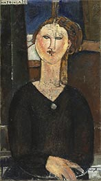 Antonia, c.1915 by Modigliani | Painting Reproduction