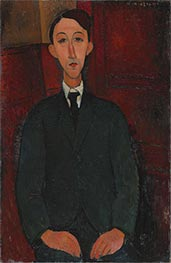 Portrait of the Painter Manuel Humbert | Modigliani | Painting Reproduction