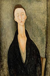 Lunia Czechowska | Modigliani | Painting Reproduction