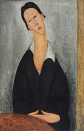 Portrait of a Polish Woman | Modigliani | Painting Reproduction