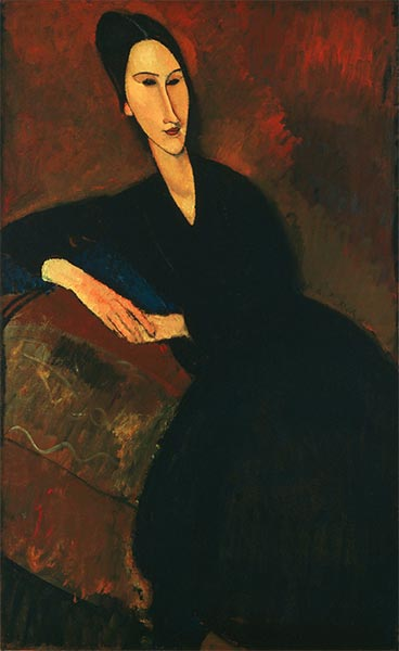 Anna Zborowska, 1917 | Modigliani | Painting Reproduction