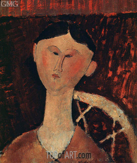 Portrait of Mrs Hastings, 1915 | Modigliani | Painting Reproduction